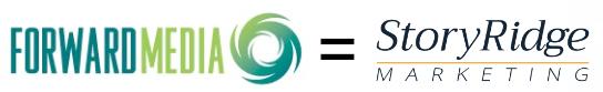 Forward Media and StoryRidge Marketing logos