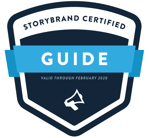 Certified StoryBrand Guide Badge